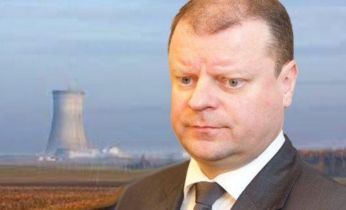 S. Skvernelis džiaugiasi Latvijos pažadu nepirkti elektros iš Baltarusijos, jei joje pradės veikti Astravo AE