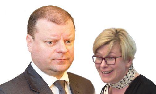 Galimai būsima prezidentė pasipiktino, kad S. Skvernelis, galimai perėmė prezidentės funkcijas santykiuose su Baltarusija