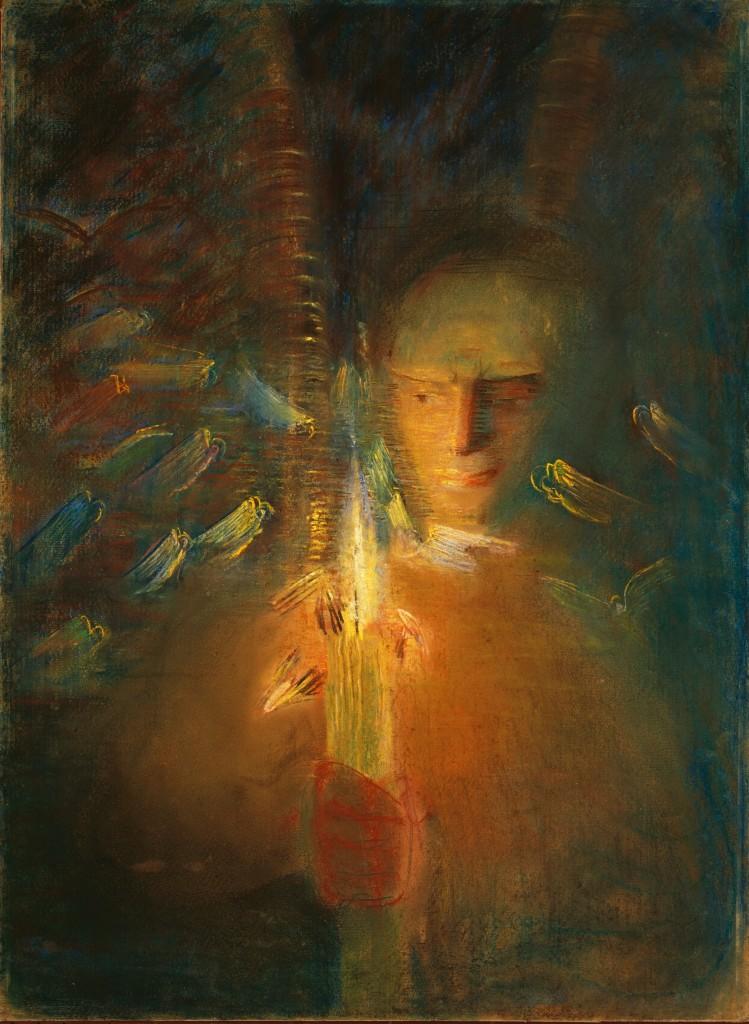 """""""Tiesa"""", 1905, Mikalojus Konstantinas Čiurlionis"""