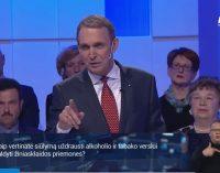 Arvydas Juozaitis paliko LRT salę nelaukdamas debatų pabaigos