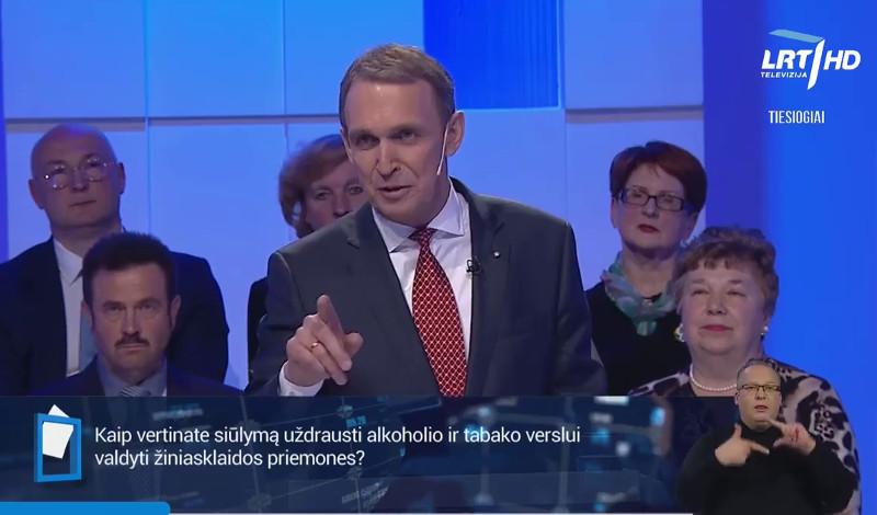 Arvydas Juozaitis LRT