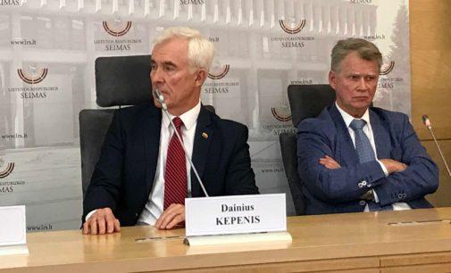 """Seimo narys Dainius Kepenis: """"Būtina stiprinti visuomenės informavimą"""""""