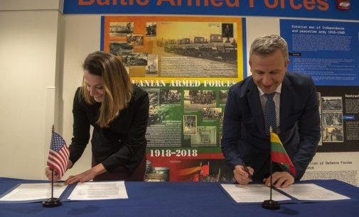 Patvirtintas ilgalaikis Lietuvos ir JAV karinio bendradarbiavimo planas