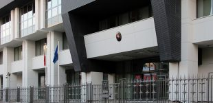 Lietuva įteikė notą Rusijai dėl grasinimų atstovybės Maskvoje darbuotojams ir jų šeimų nariams