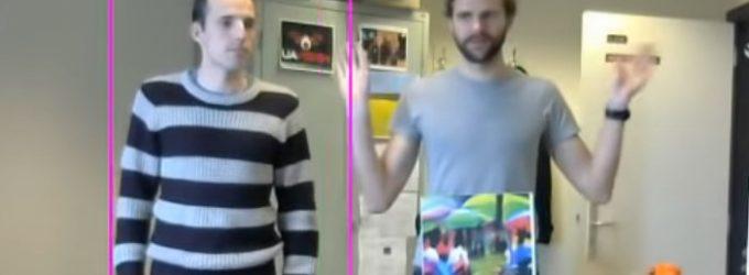 Neįprasti atvaizdai ant marškinėlių paverčia žmogų nematomą sekimo kameroms