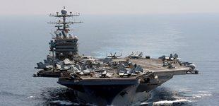 JAV siunčia į Irano pakrantę lėktuvnešį ir bombonešių eskadrilę