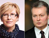 """""""Partijos kareivis"""" – Ingrida Šimonytė ir """"kapitalo karys"""" – Gitanas Nausėda. Kas geriau Lietuvai?"""