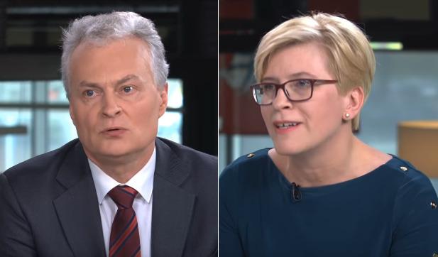 Gitanas Nausėda ir Ingrida Įimonytė