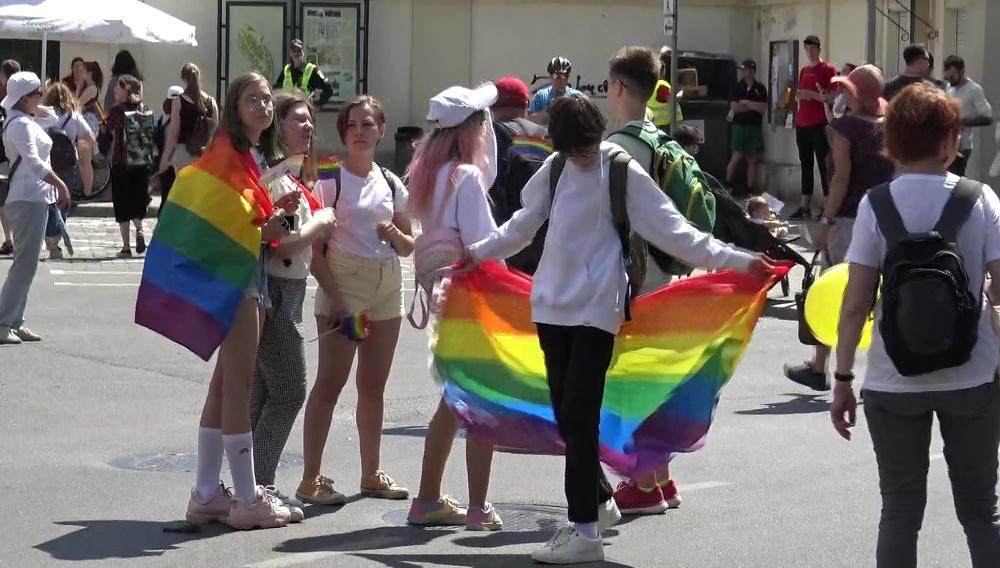 LGBT vėliava | stop kadras / infa.lt