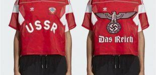 """Dėl drabužių su sovietine simbolika pardavimų Seimo konservatoriai kreipėsi į """"Adidas"""""""