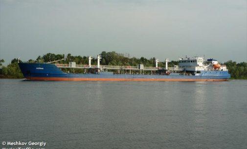 Ukraina sulaikė Rusijos tanklaivį su ekipažu