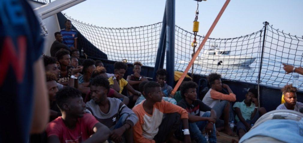 Migrantų iš Libijos vokiečių laive nepriėmė nei Malta, nei Italija