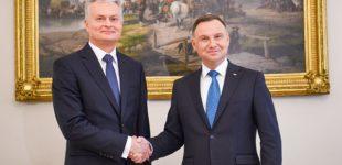 Prezidentas G. Nausėda JAV įsitraukimą į Lenkijos ir Lietuvos gynybą laiko vienu svarbiausių savo užsienio politikos prioritetų