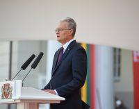 LR Prezidento Gitano Nausėdos kalba Prezidento rūmų perdavimo ceremonijoje