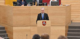 Prezidentas pasveikino Seimą rudens sesijos pradžios proga bei priminė bendrą siekį – Gerovės valstybę