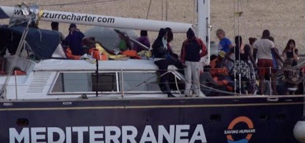 Italija: antras laivas per savaitę su nelegaliais migrantais