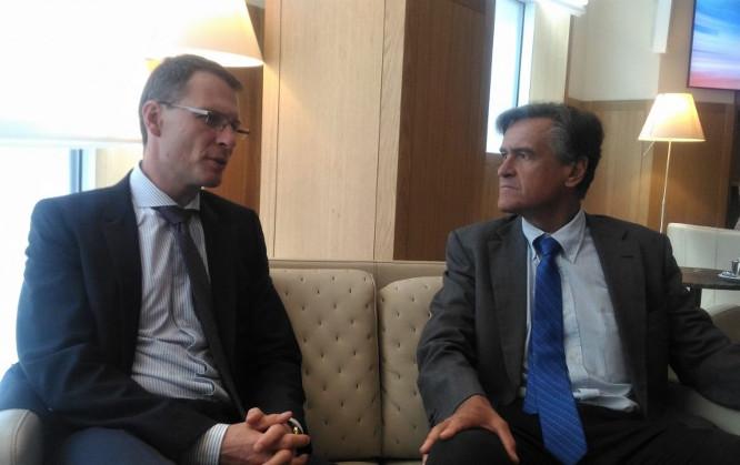 Ministras Briuselyje