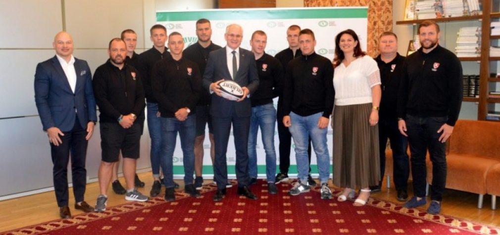 """Lietuviai tapo Europos regbio čempionato """"Trophy"""" diviziono nugalėtojais ir sugrįžo į elitinį """"Grand Prix"""""""