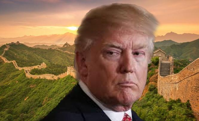 Donaldas Trampas ir Didžioji Kinų siena