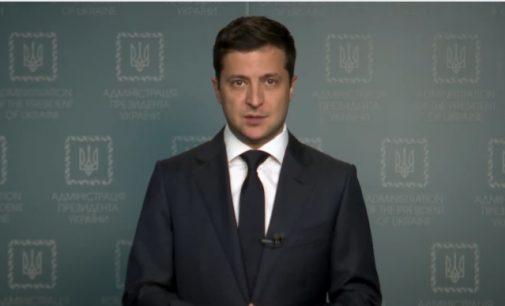 Ukrainos prezidentas V. Zelenskis pateikė Aukščiausioje Radoje įstatymo projektą dėl P. Porošenko komandos liustracijos