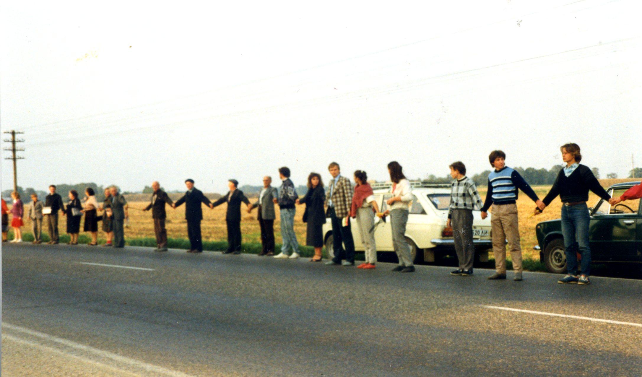 1989 Baltijos kelias, Plungiškiai, Zigmas Vaišvila