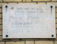 Atminimo lentų Vilniuje plėšymo vajus – R. Šimašius sako, jog išdavikės poetės V. Valsiūnienės lentos nebeliks. Kas sekantis?