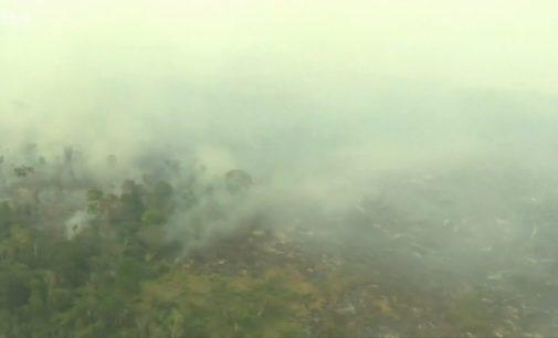 """""""Atkurkite miškus Europoje"""". Brazilija atsisakė G7 pagalbos gesinant gaisrus Amazonijoje"""