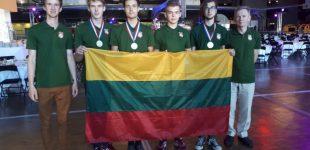 Turime kuo didžiuotis – tarp 80 šalių, tarptautinėje moksleivių chemijos olimpiadoje – lietuvių sidabras, bronza ir pagyrimo raštas!