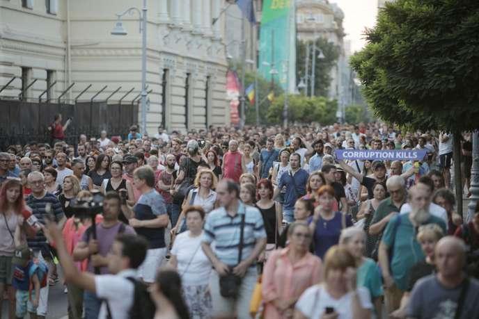 Protestai Bukareste liepos 27