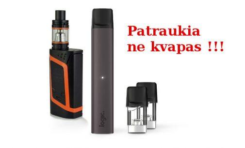 Seimas pritaria, kad aromatizuotų elektroninių cigarečių draudimo svarstymas yra svarbu