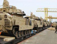 Į Lietuvą atvyksta apie 500 JAV karių