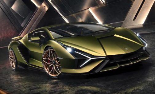 Lamborghini pristatė pirmąjį pasaulyje hibridą naudojantį superkondensatorius