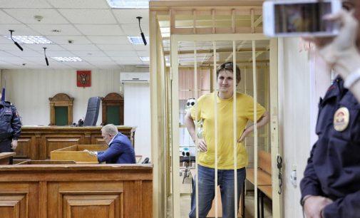 """Maskvoje tinklaraštininkas buvo """"pasodintas"""" už žinutę Twitter'yje"""