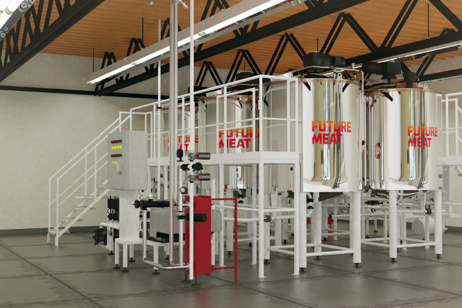 Future Meat produkcijos modulis