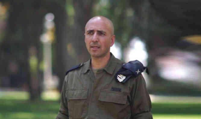 Izraelio generolas Shay Elbaz