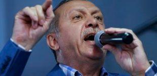 """Turkijos prezidentas paragino """"ES"""" atsipeikėti, apkaltino apgavyste ir pagrasino jai migrantais"""