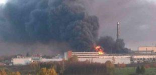 Alytaus gaisro paveiktose teritorijose – kenksmingomis medžiagomis užterštas pienas
