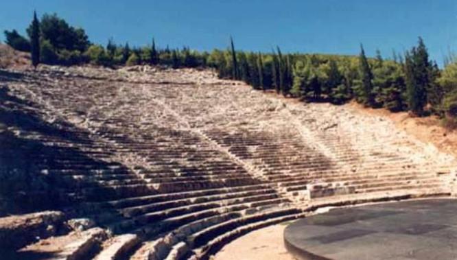 Graikijos Argos amfiteatras