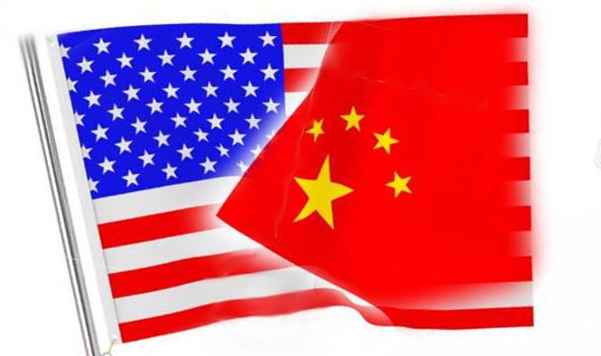 JAV, Kinijos vėliavos