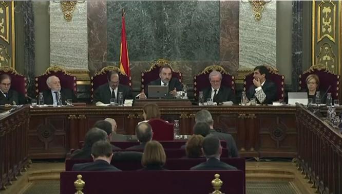Katalonijos lyderių teismas
