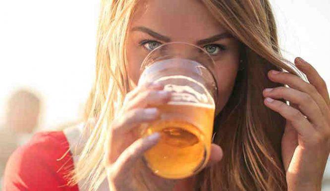 geria alų