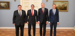 G. Nausėda pakvietė JAV didinti suskystintų gamtinių dujų eksportą į Lietuvą