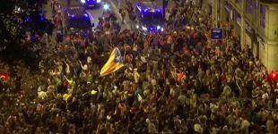 Barselona – protestas sėdomis