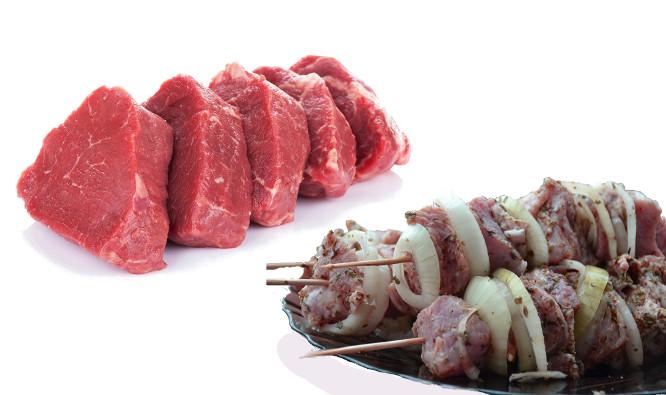 Šašlykas-mėsa