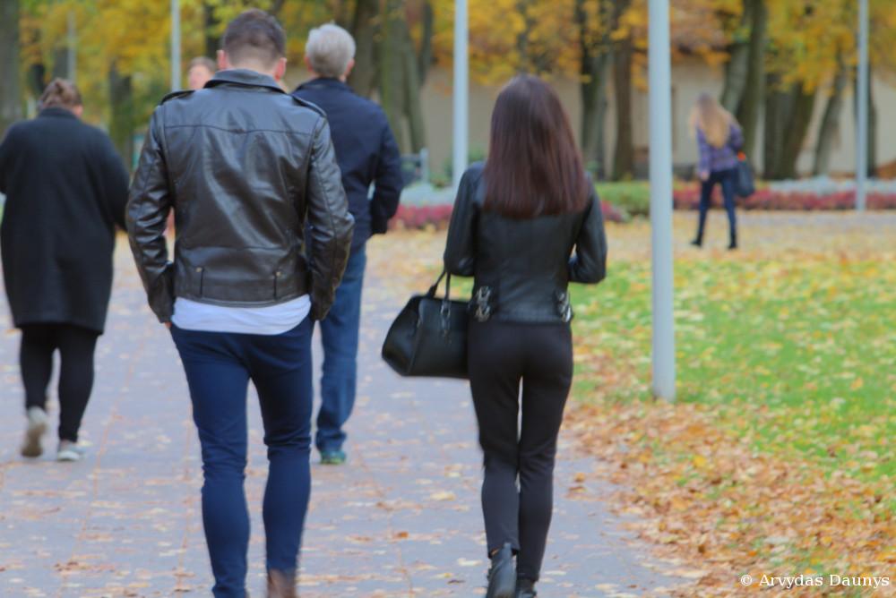 Vaikinas ir mergina. Porelė