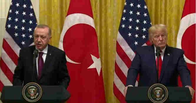 Erdoganas ir Trampas
