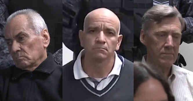 Nicola Corradi, Armando Gomez, Horacio Corbacho