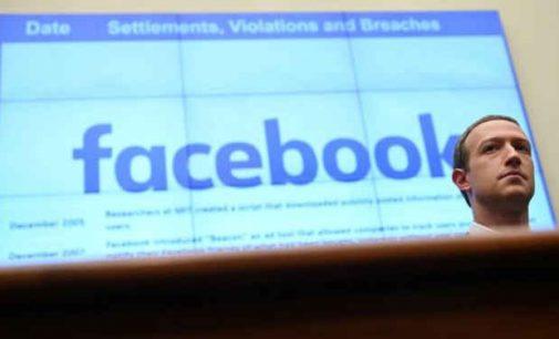 Facebook: Didžioji Britanija ceitnote, Zuckerbergas nepalenkiamas