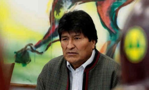 Bolivijos prezidentas jau nebe prezidentas