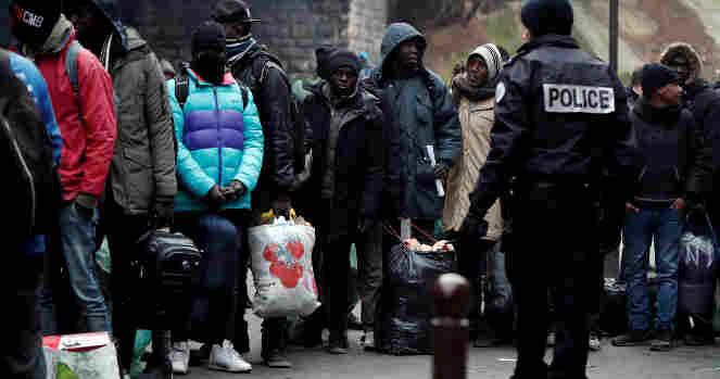 Pabėgėliai - Prancūzija